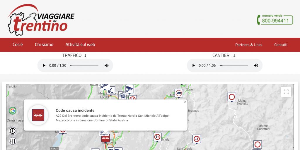 Sito Viaggiare in Trentino